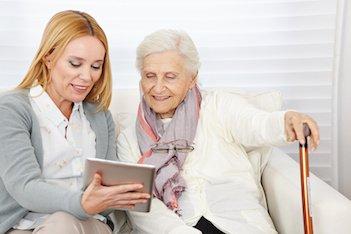 Seniorenpflege aus Polen