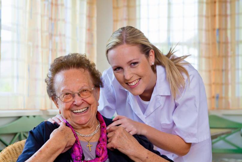 Polnische Krankenschwester