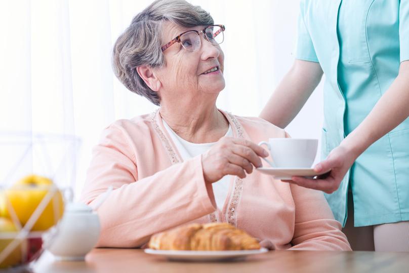 Pflegerin aus Polen